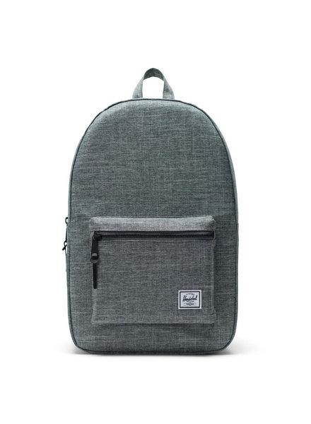HERSCHEL Settlement 600D Poly Raven Crosshatch Backpack