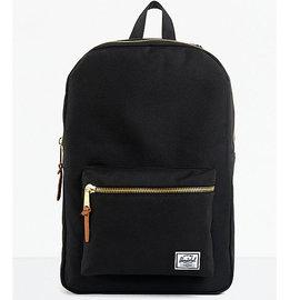 Settlement 600D Poly Black Backpack
