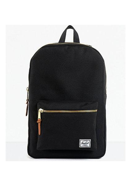 HERSCHEL Settlement 600D Poly Black Backpack