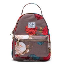 HERSCHEL Nova Mini 600D Poly Vintage Floral Pine Bark Backpack