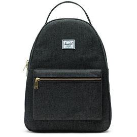 HERSCHEL Nova Mid Volume Black Crosshatch Backpack
