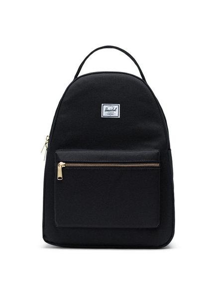 HERSCHEL Nova Mid Volume Black Backpack