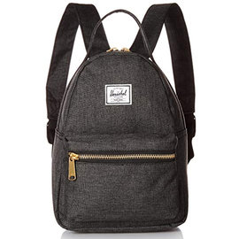 Nova X Small Black Crosshatch Backpack