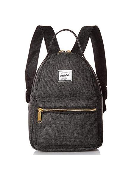 HERSCHEL Nova X Small Black Crosshatch Backpack