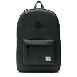 Heritage 600D Poly Black/Black Crosshatch Backpack