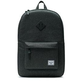 HERSCHEL Heritage 600D Poly Black/Black Crosshatch Backpack