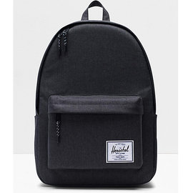 Classic XL 600D Poly Black Crosshatch Backpack