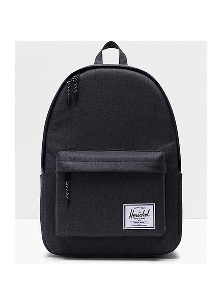 HERSCHEL Classic XL 600D Poly Black Crosshatch Backpack