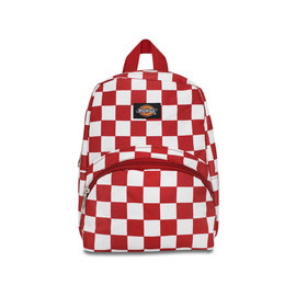 DICKIES Mini Red/White Checkered Backpack