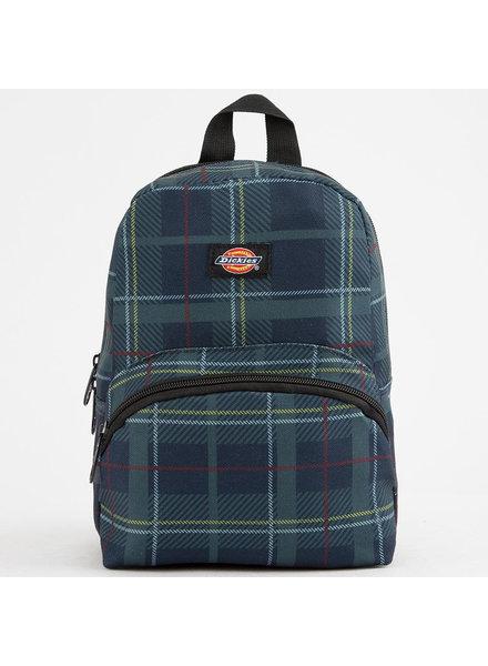 DICKIES Mini Navy/Red Plaid Backpack