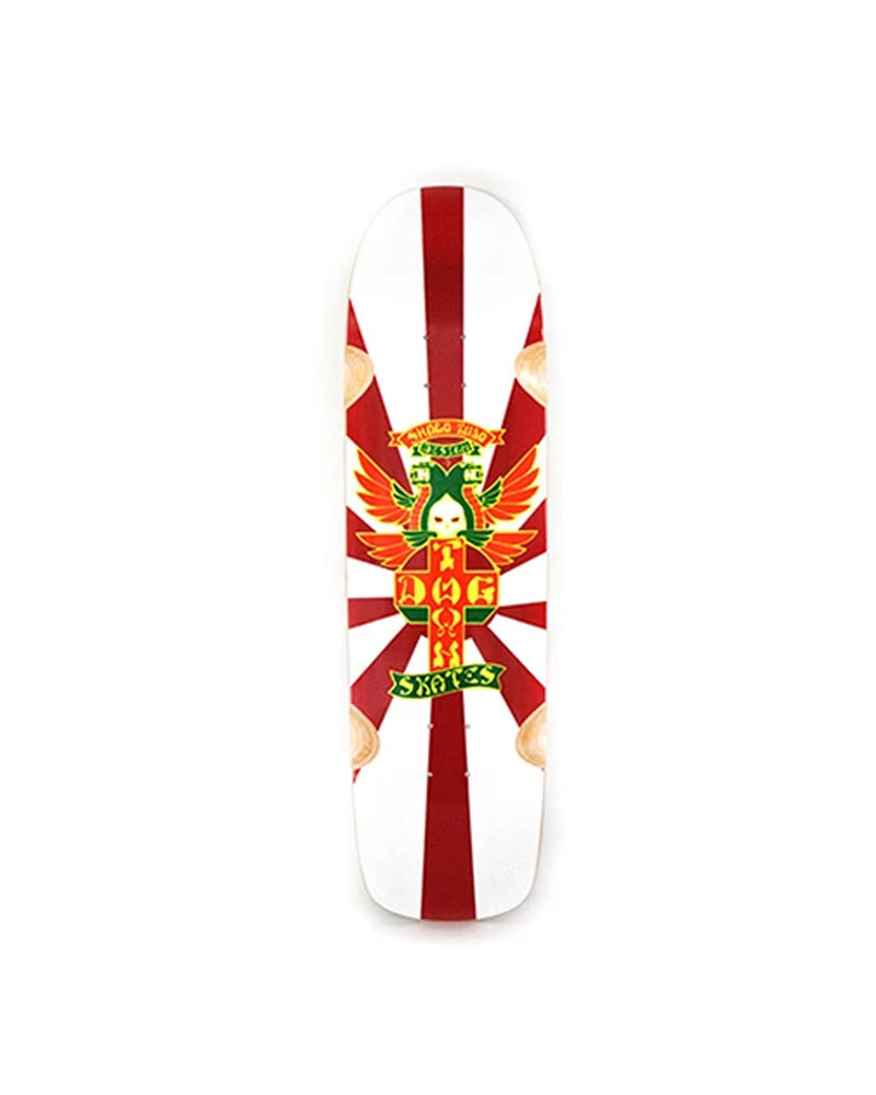 DOGTOWN SHOGO KUBO POOL DECK (GLOSS WHITE) 8.75 X 32.875