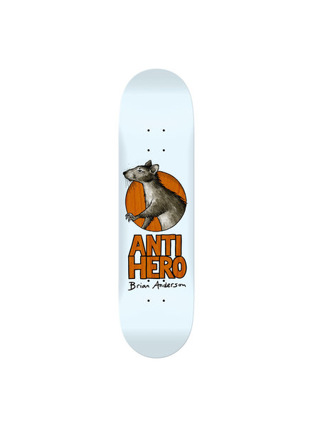 Anti Hero Skateboards Brian Anderson Scavengers 8.4