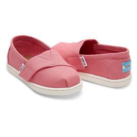Bubblegum Pink Canvas Tiny TOMS Classics