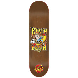 Santa Cruz Skateboards Kevin Braun Hot Dog 8.25