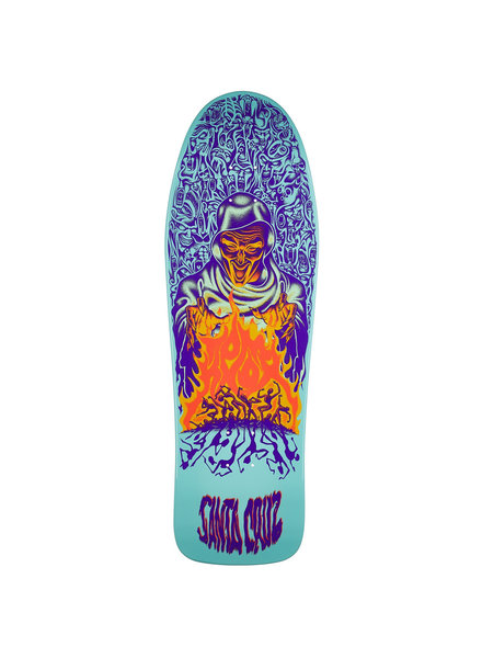 Santa Cruz Skateboards Knox Firepit Reissue 10.07
