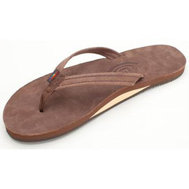 Rainbow Narrow Strap EXpresso Women's Sandal