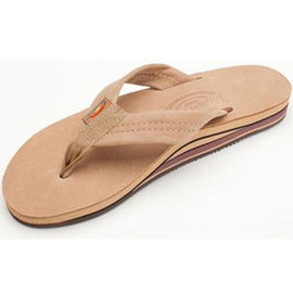 Rainbow Double Layer Sierra Brown Women's Sandal
