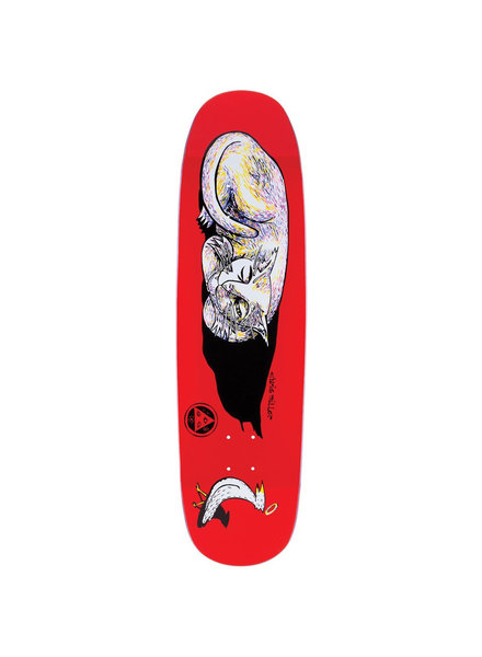 Welcome Skateboards Sleeping Cat on Catblood 2.0 Red/White 8.75