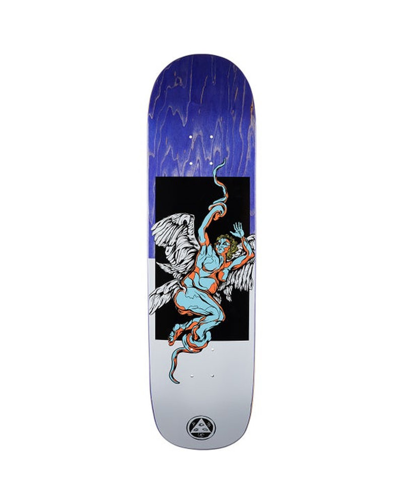 Welcome Skateboards WELCOME DECK SERAPHIM ON BIG BUNYIP BLACK/WHITE (SERABIGBBKWT)