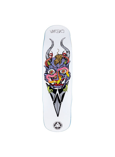 Welcome Skateboards Maligno on Effigy White 8.8