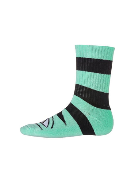 Toy Machine Big Stripe Monster Sock - Light Blue