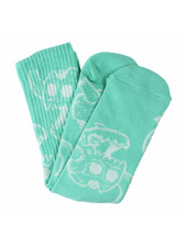 Toy Machine Monster Skull Socks - Aqua