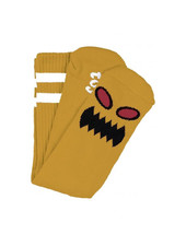 Toy Machine Monster Face Socks - Mustard
