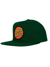 Santa Cruz Skateboards Classic Snapback Mid Profile Forest Green Hat