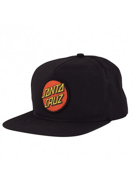 Santa Cruz Skateboards Classic Snapback Mid Profile Black