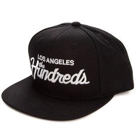 The Hundreds Forever Team Snapback Hat Black