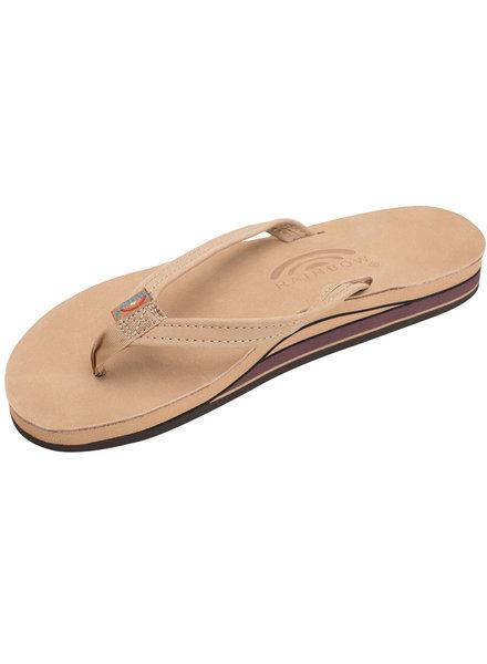 Rainbow Double Layer Premier Sierra Brown Sandals
