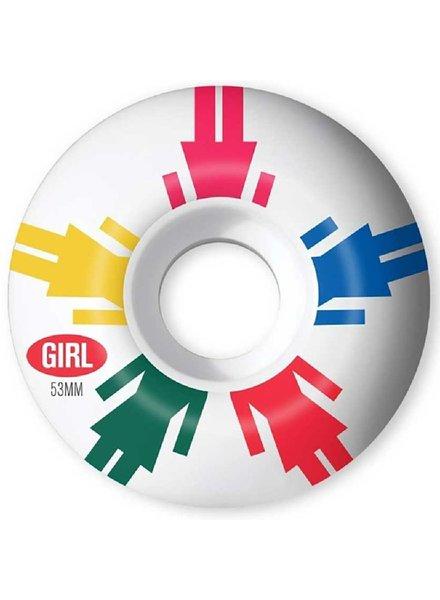 Girl Enamel Staple 53mm