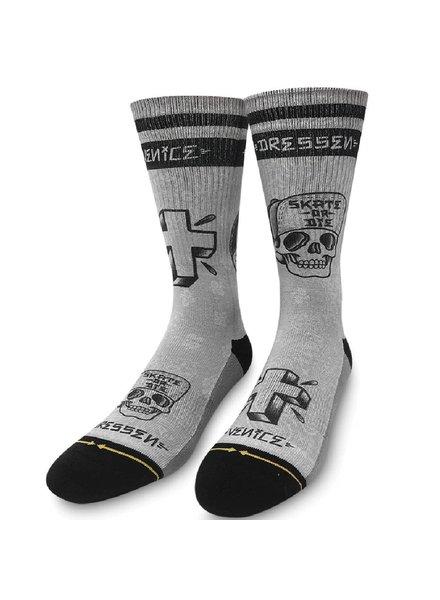 MERGE 4 Dressen Mid Length Grey Socks