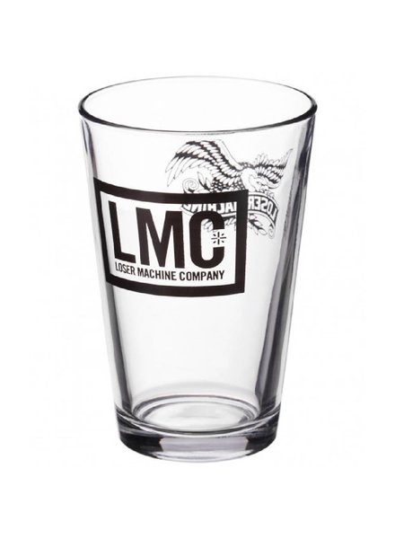 Loser Machine Clear Pint Glass