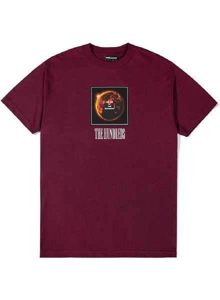 The Hundreds End Burgundy Tee