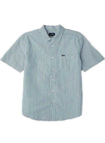 OBEY Button Up Jumbo Stripe Tee