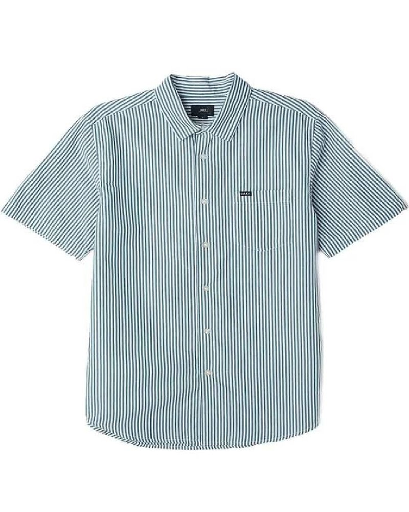 OBEY Button Up Jumbo Stripe Tee
