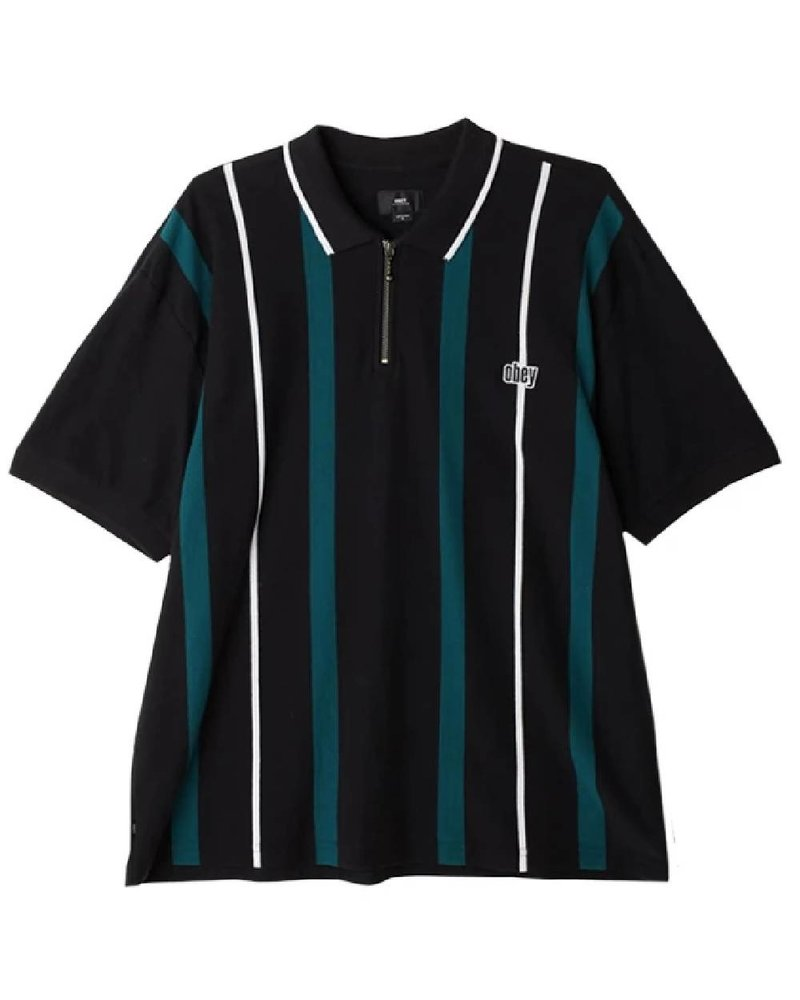 OBEY Chunk Classic Striped Polo