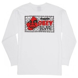 OBEY Big Boy Pants Long Sleeve Tee