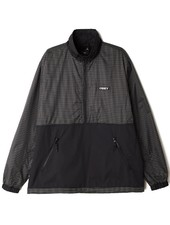 OBEY Nore Anorak Black Pop Over