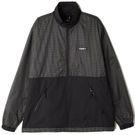 OBEY OBEY Nore Anorak Black Pop Over