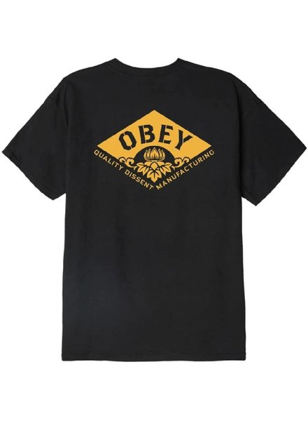 OBEY Black Lotus Diamond Tee