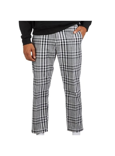 OBEY Plaid Straggler Flooded Pants