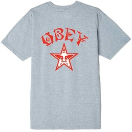 OBEY OBEY Heather Grey Tokyo Tee