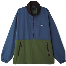 OBEY The Tucker Anorak Saphire Pop Over