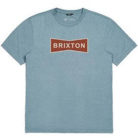 Brixton Blue Wedge ll Premium Tee