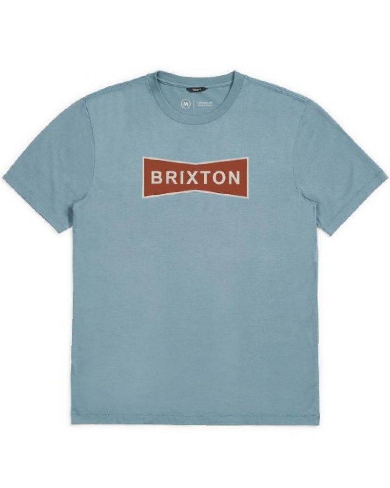 Brixton Blue Wedge ll Premium Tee