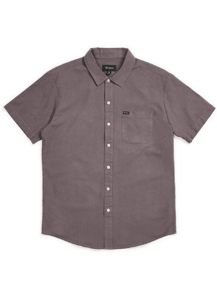 Brixton Charter Oxford Short Sleeve Woven Tee