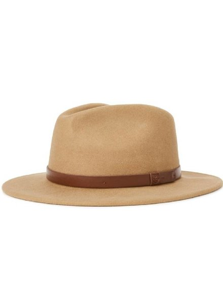 Brixton Brown Messer Fedora