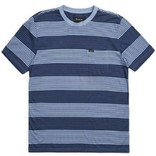 Brixton Blue/Washed Navy Hilt Pocket Knit Tee